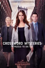 The Crossword Mysteries: A Puzzle to Die For 2019